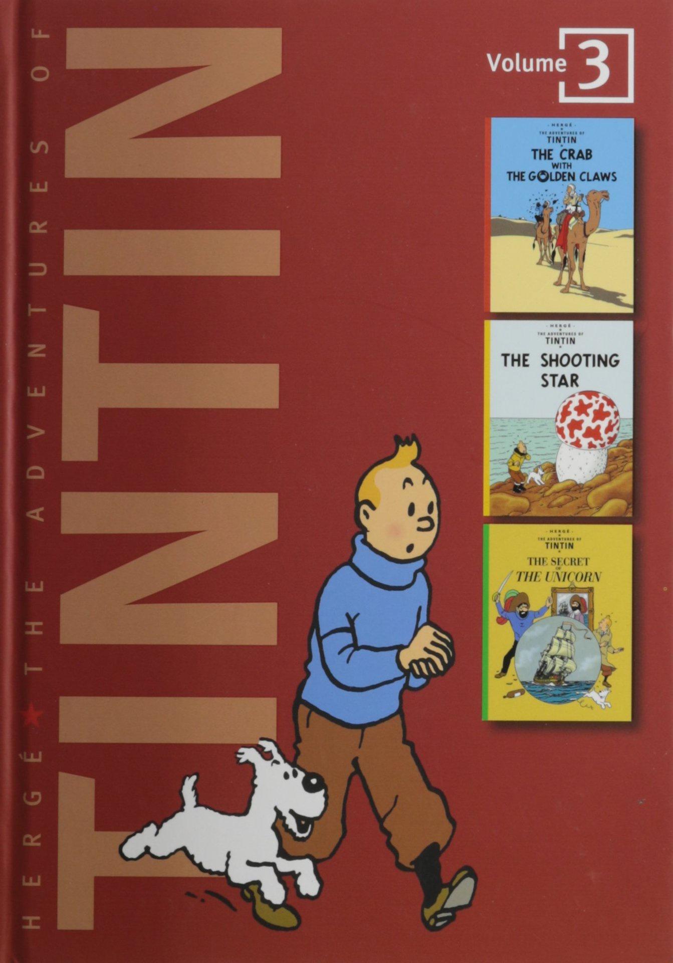 Adv of Tintin 3-In-1 Ed HC Vol 03