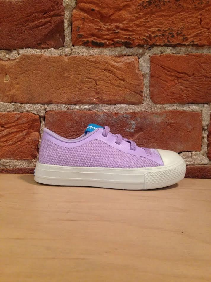 PEOPLE FOOTWEAR - THE PHILLIPS JUNIOR IN ORIGAMI PURPLE/PICKET WHITE