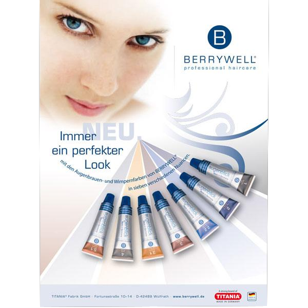 Berrywell Eyebrow Eyelash Dye 15ml Spirit Hair And Beauty Supplies