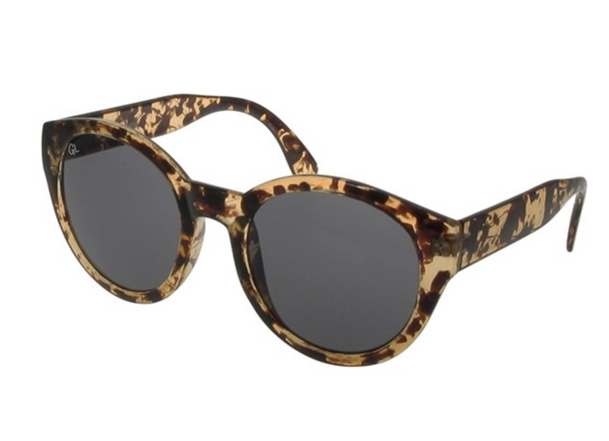 Dani tortoiseshell  polarised sunglasses