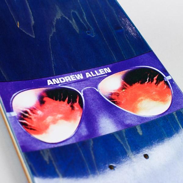"Hockey Andrew Allen Beach Deck 8.25"""