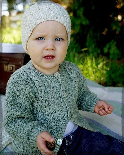 Addison Cardi & Hat