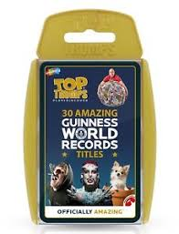 TOP TRUMPS 30 GUINNESS WORLD RECORDS