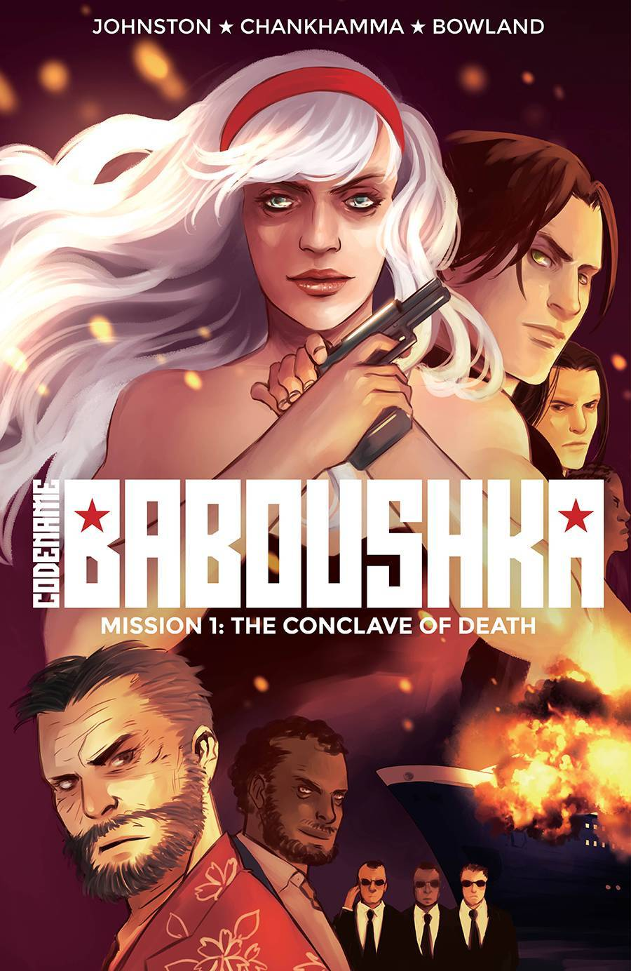 Codename Baboushka Vol 01 Conclave Of Death