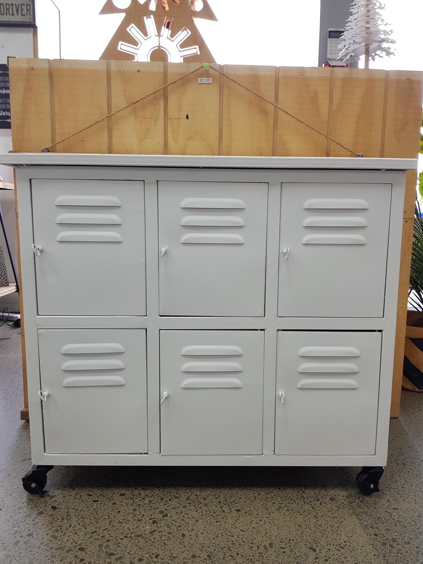 Industrial Locker Cabinet 6 Door Industria