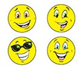 T 83202 YELLOW SMILES/LEMON STINKY STICKERS