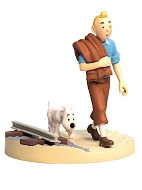 Tintin Box Scene Railway