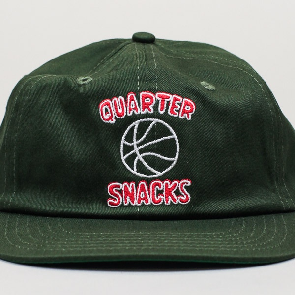 Quartersnacks Ball Is Life Cap Forrest Green