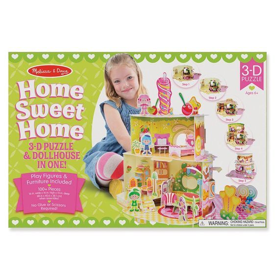 MD 9460 HOME SWEET HOME 3D PUZZLE