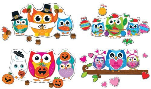 CD 110224 CELEBRATE WITH COLORFUL OWLS BBS