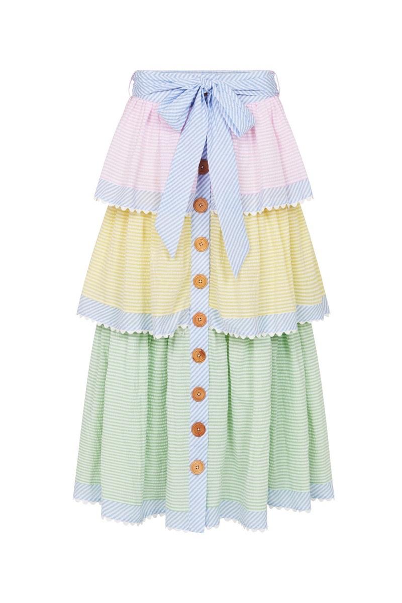 Binny David Austin Maxi Skirt