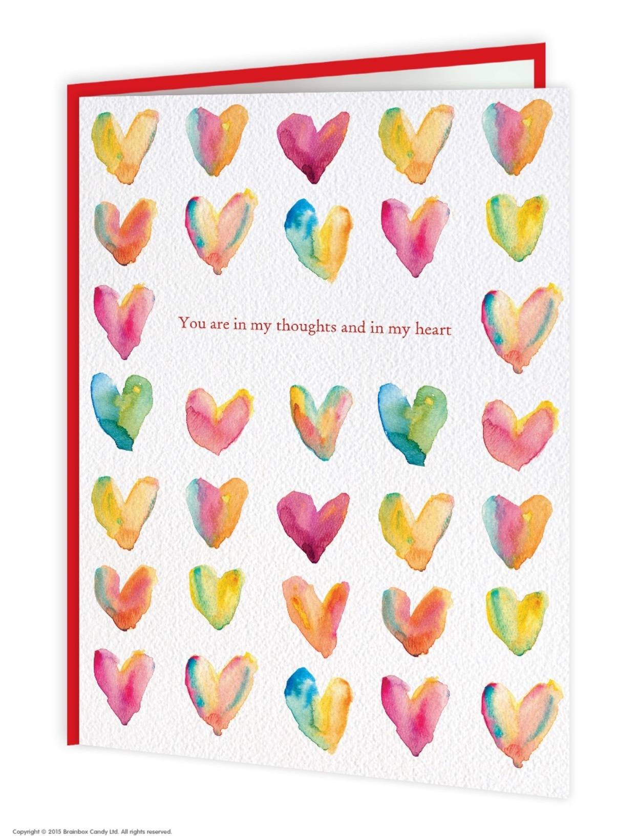 Brain Box Candy Thinking Of You Greetings Card Lucy Lous