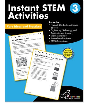 CTP 8195 INSTANT STEM ACTIVITIES GR. 3