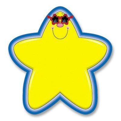 CD 5528 STAR WITH SUNGLASSES CUTOUTS