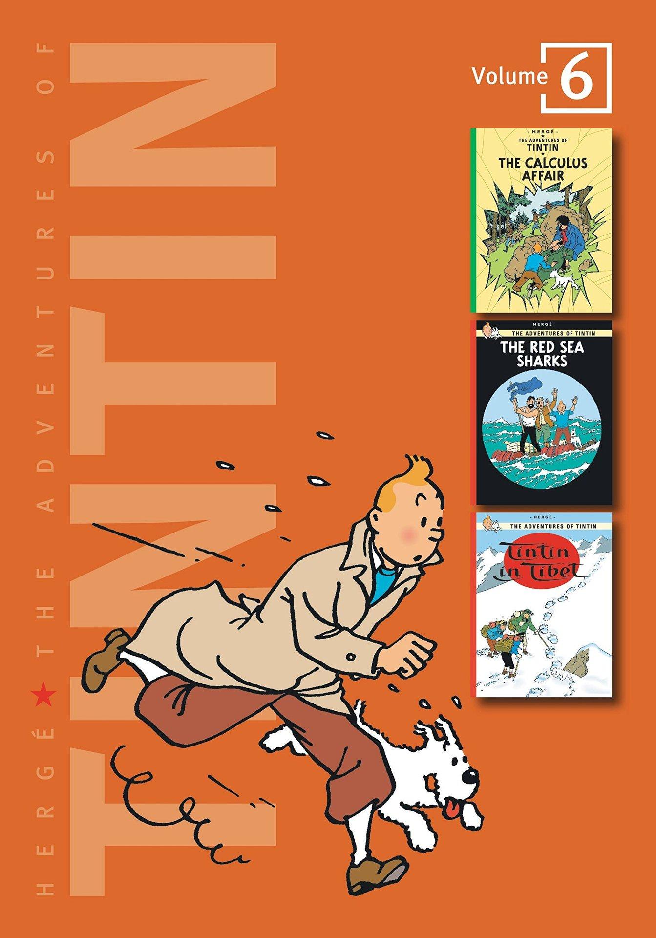 Adv of Tintin 3-In-1 Ed HC Vol 06