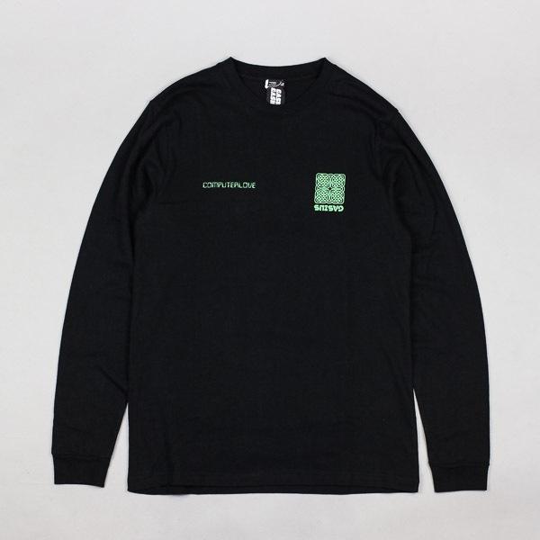 Gasius Network L/S Tshirt Black