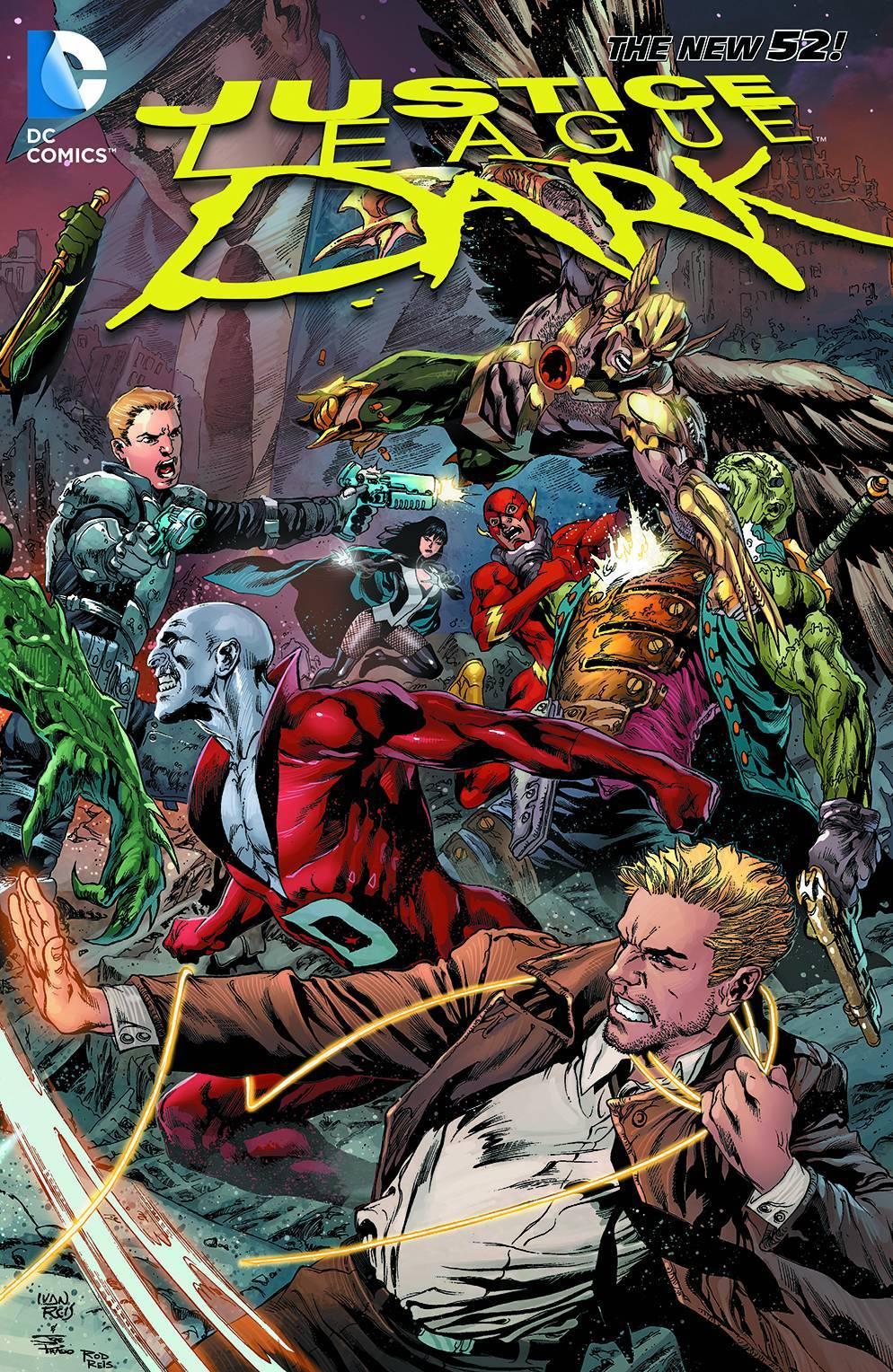 Justice League Dark Vol 04 The Rebirth of Evil