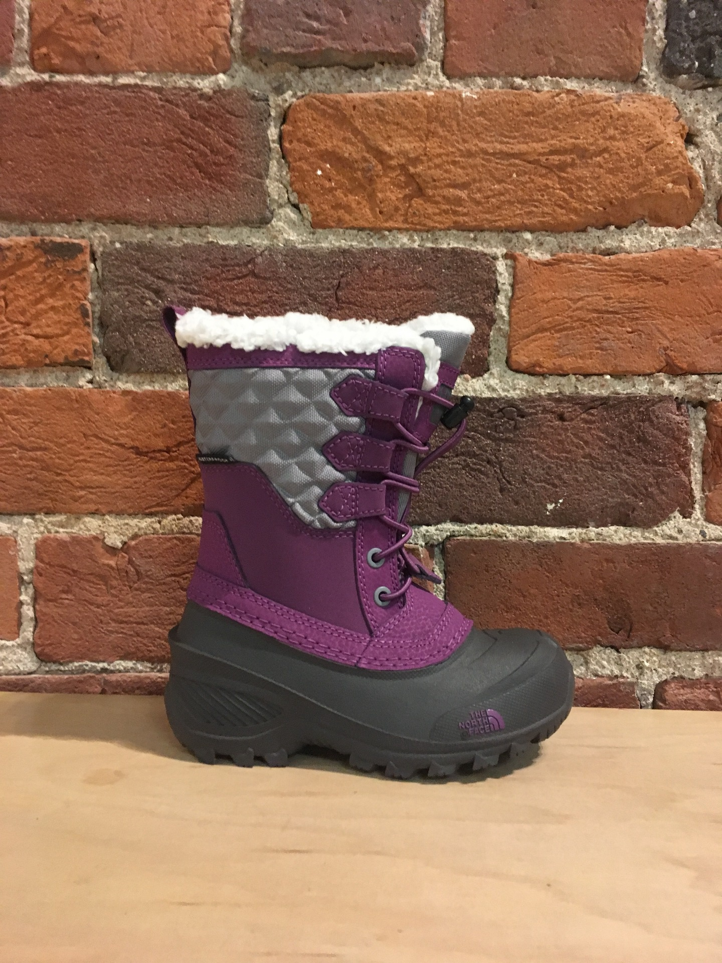 cb3e6f5f1e THE NORTH FACE - YOUTH SHELLISTA LACE III IN Q SILVER GREY/WOOD VIOLET - the  Urban Shoe Myth