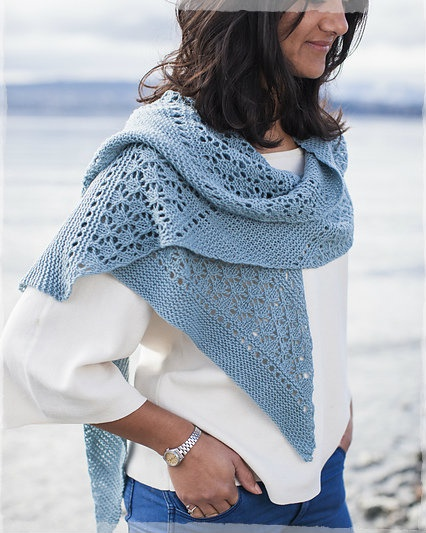 Pentala Simple Lace Shawl Kit