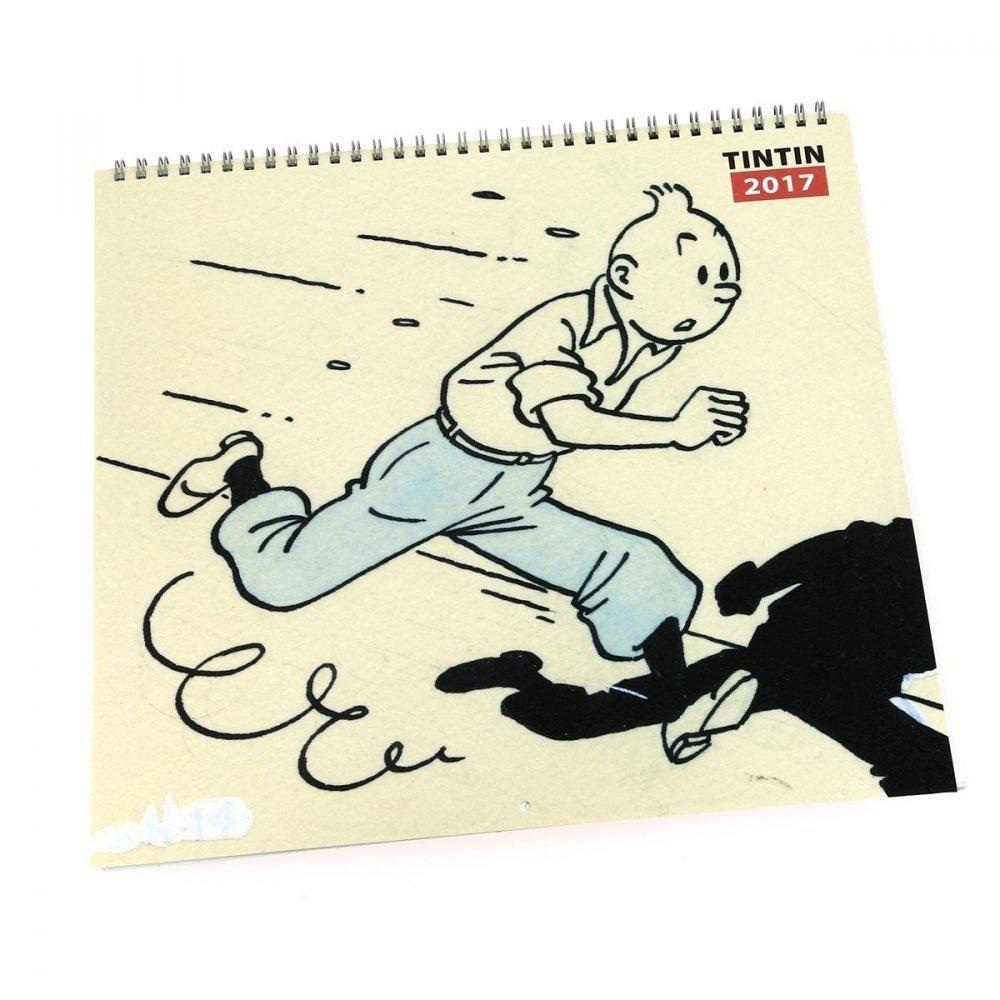Tintin Calendar 2017