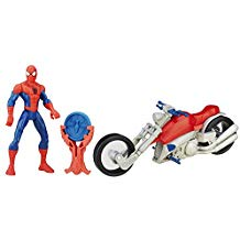 SPIDER-MAN WITH SPEED CYCLE