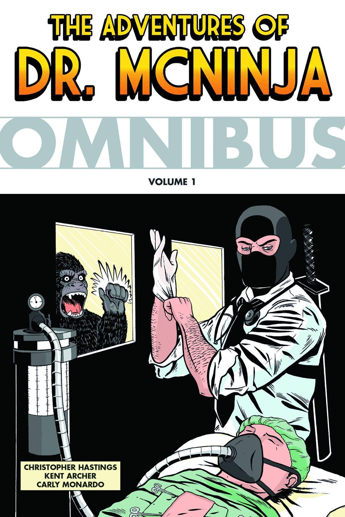 Adventures of Dr McNinja Omnibus TP