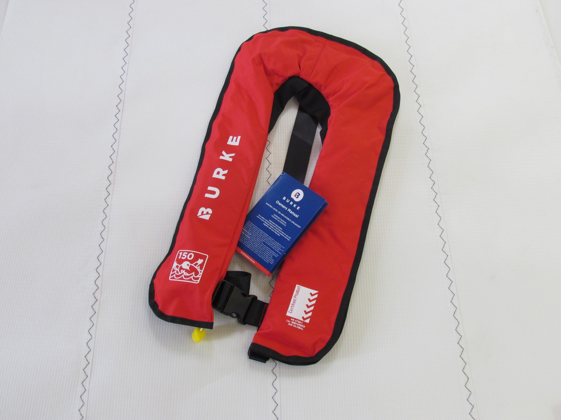 Burke 150N Manual Inflatable Lifejacket