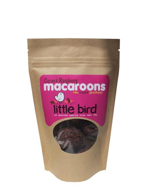 Little Bird Cacao & Raspberry Macaroon