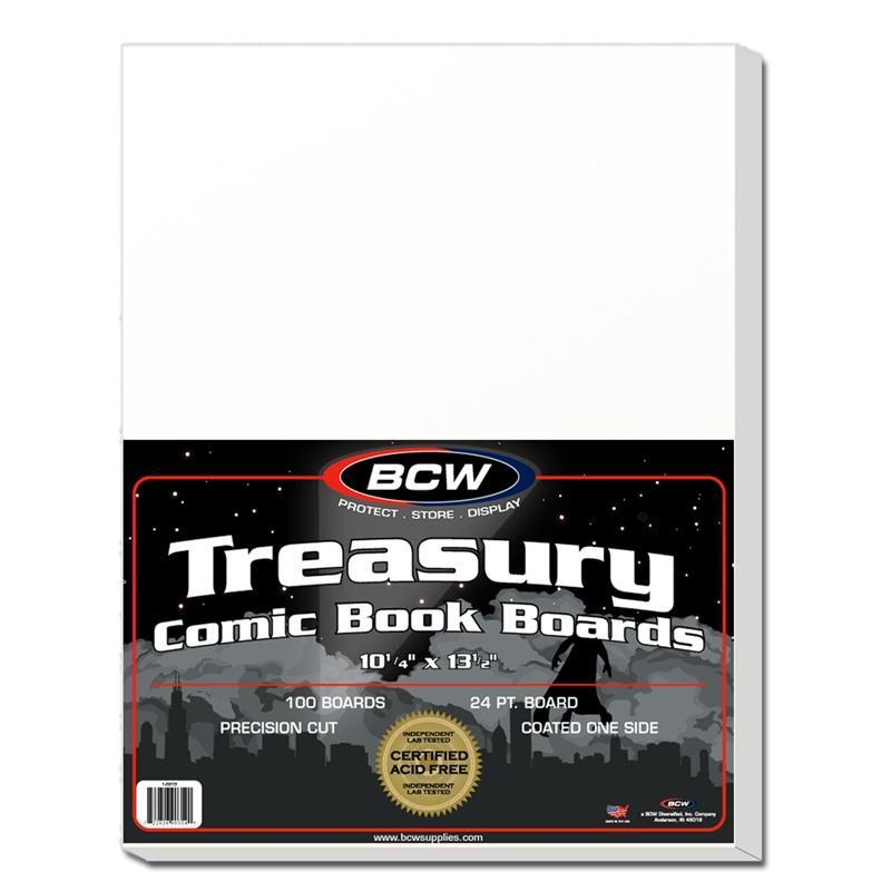 BCW Treasury Backing Boards 100 Pack