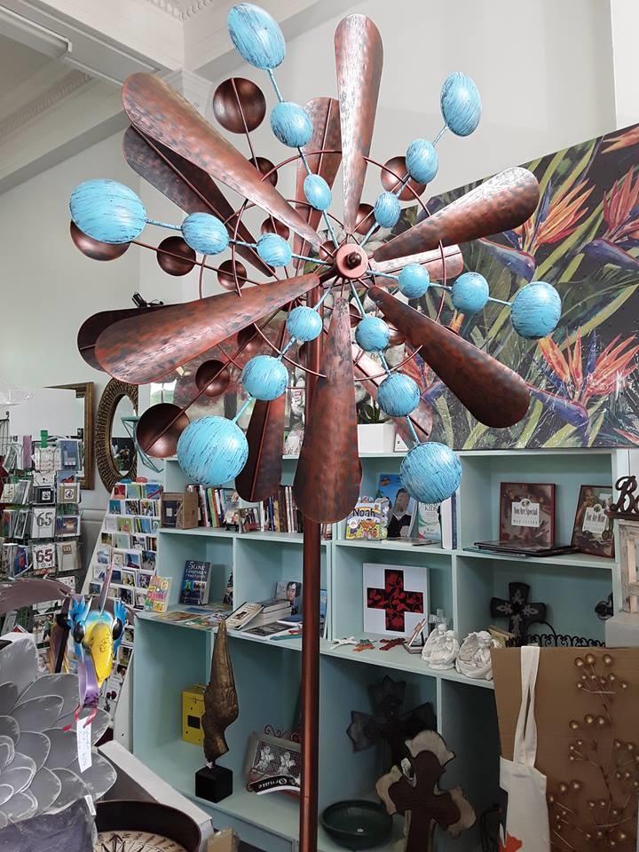 Chocolate Mint windsculpture