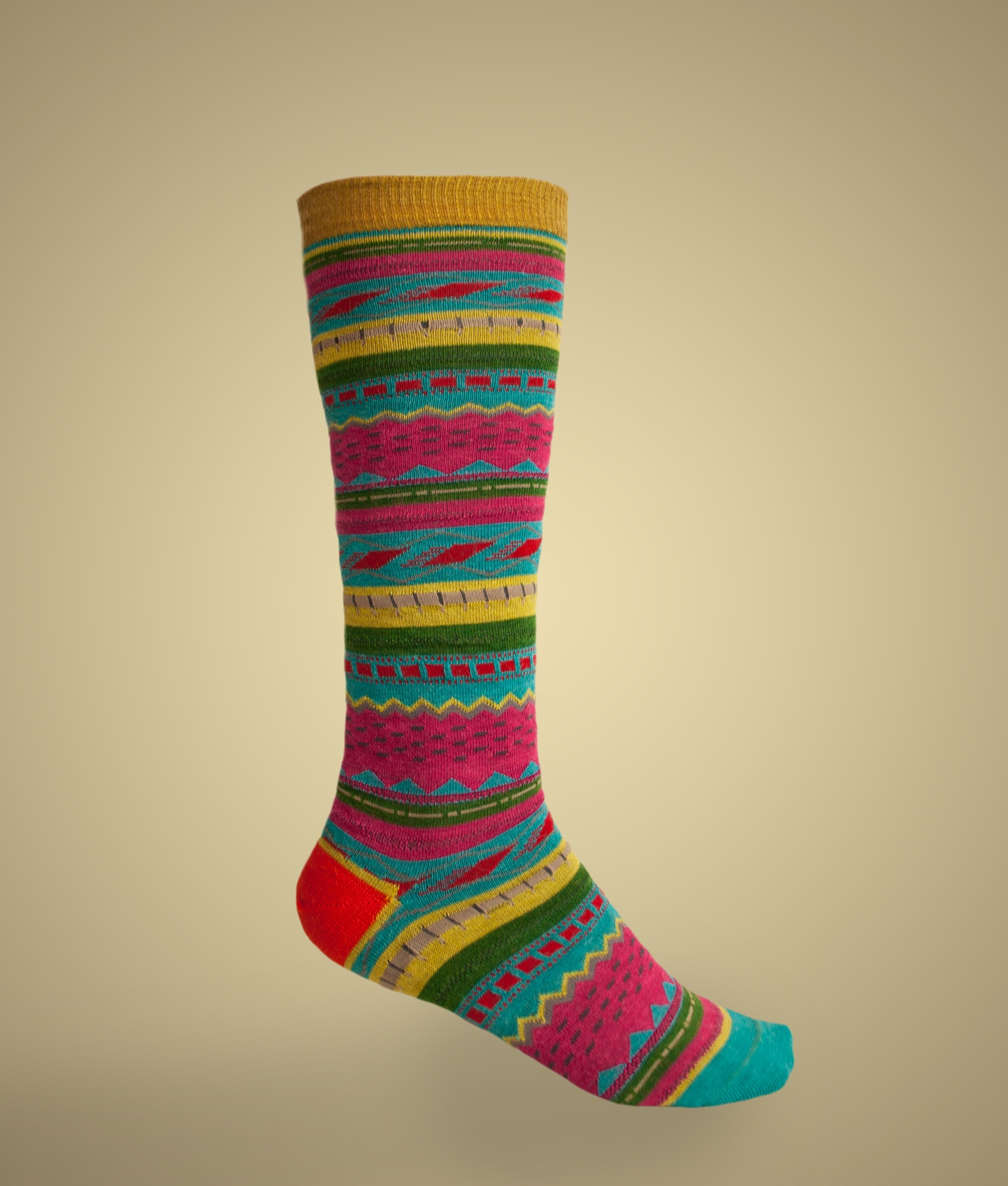 SKI JACQUARD MOTIF LADIES SOCKS C002