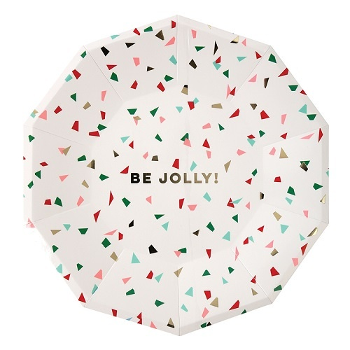 Be Jolly Plates Large