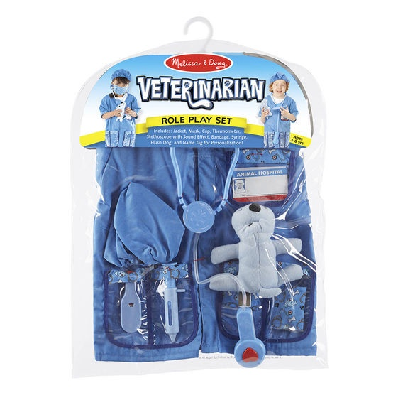X MD 4850 VETERINARIAN ROLE PLAY SET