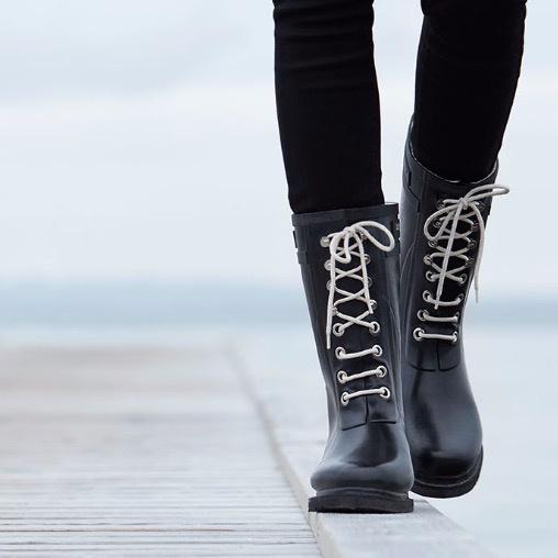 Ilse Jacobsen Rubber Boots Black