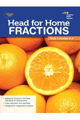X SV 544250130 HEAD FOR HOME MATH SKILLS FRACTIONS 1