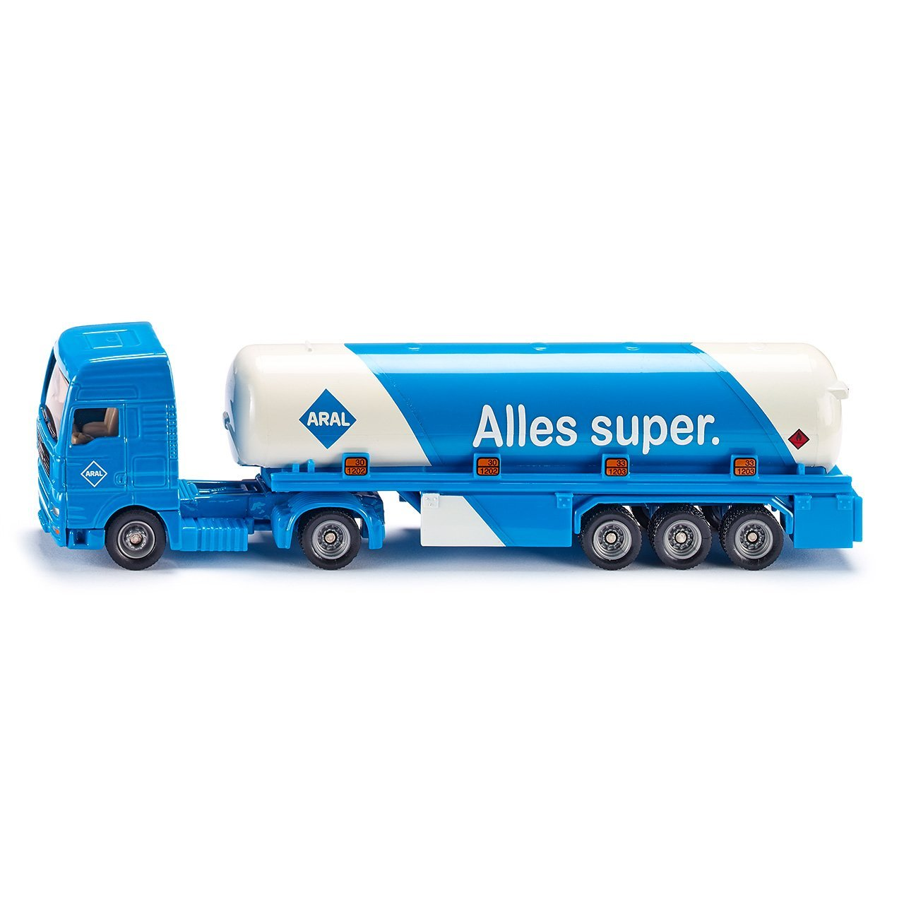 TANKER WITH TRAILER