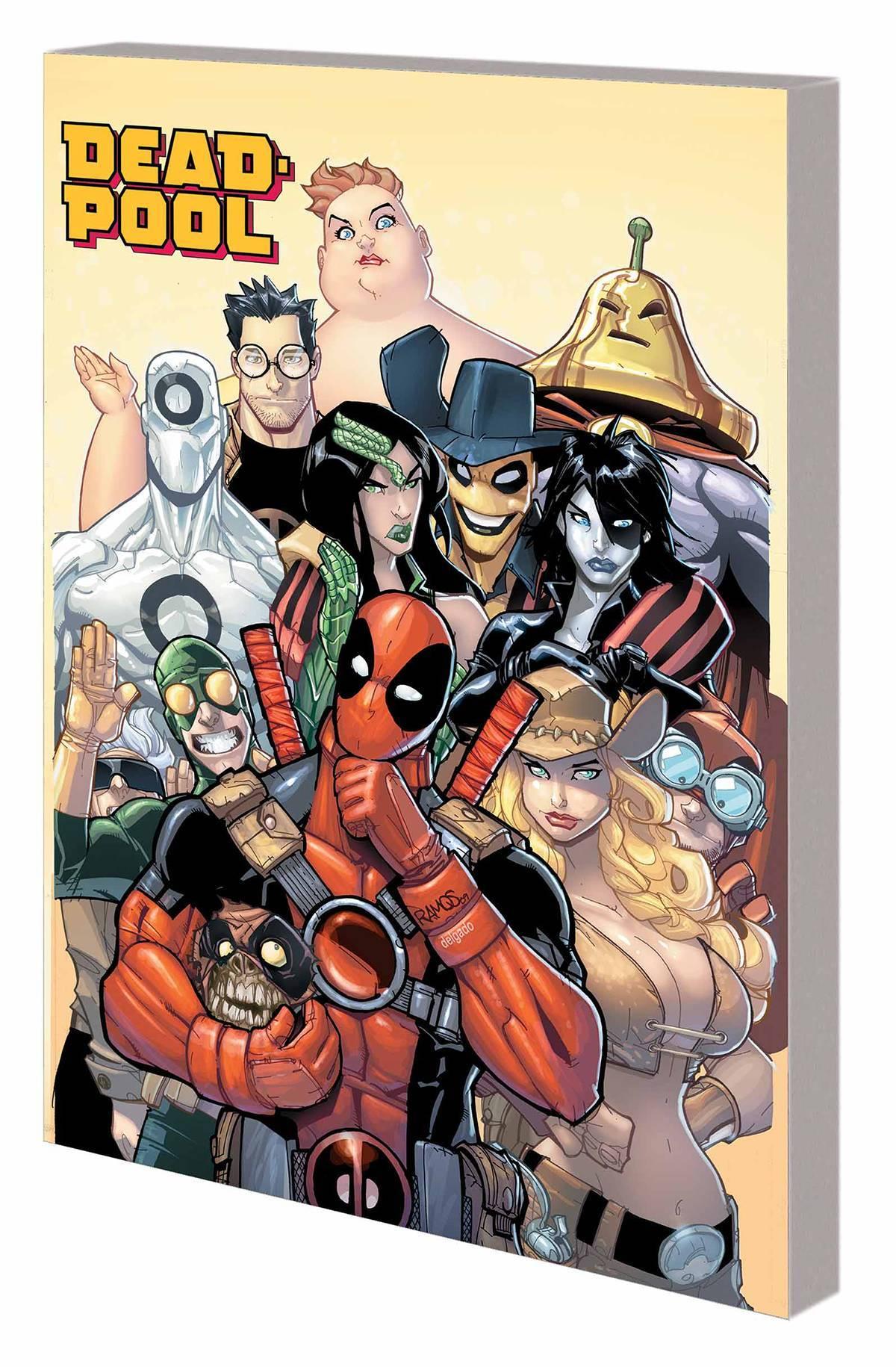 Deadpool Classic Vol 15 All Rest