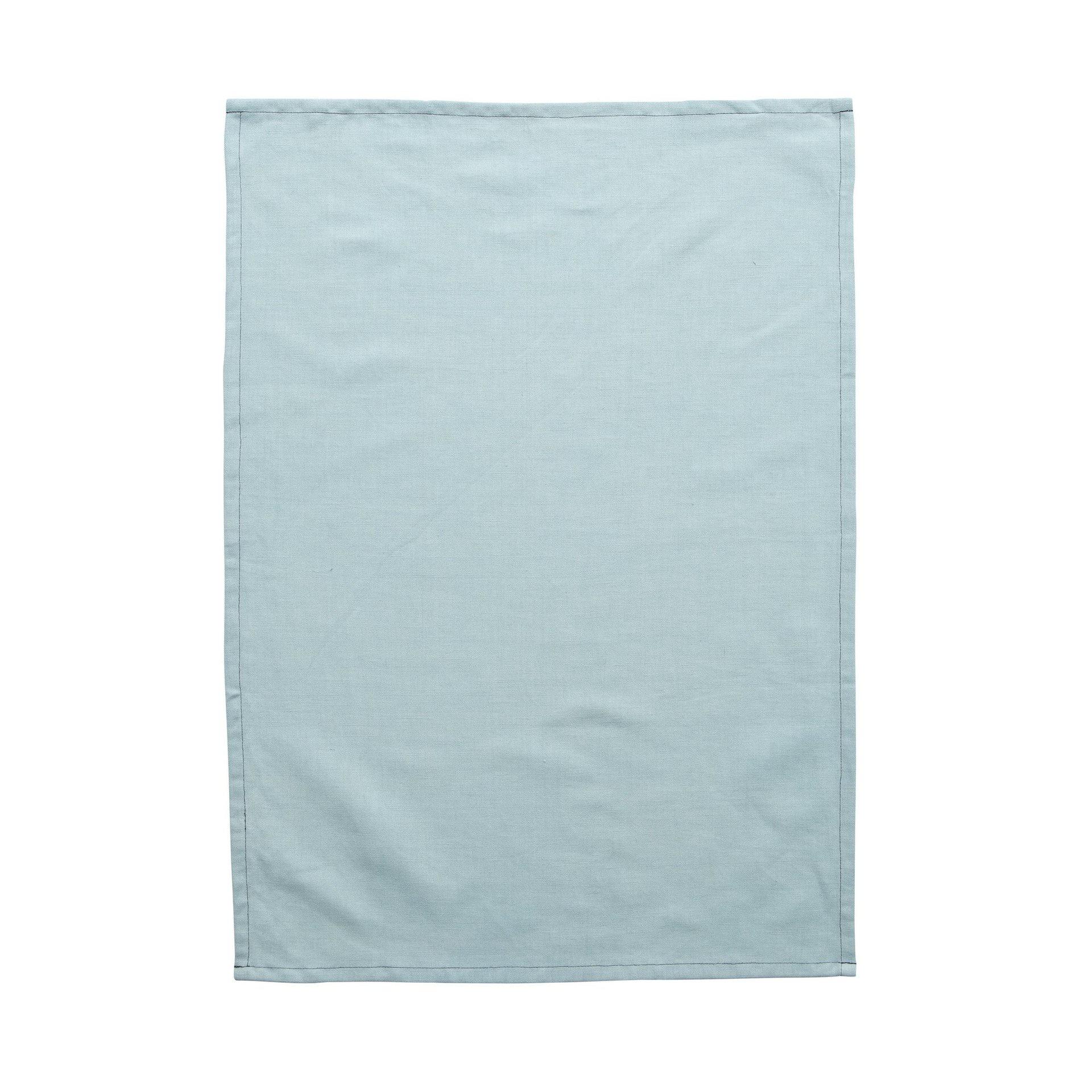 Milk & Sugar Seafoam Linen Tea Towel