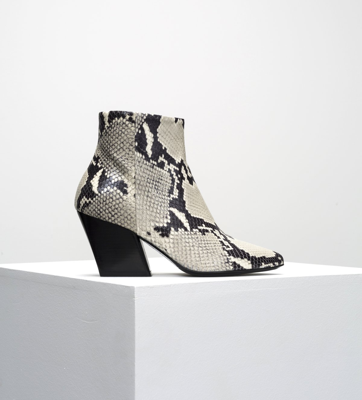 Department of Finery Piper Boot - Snake Leather