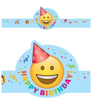 CTP 2565 EMOJI BIRTHDAY CROWN