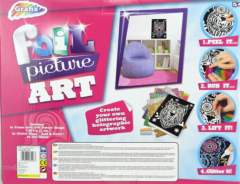 Foil picture art create your holographic artwork grafix nonsuch foil picture art create your holographic artwork jeuxipadfo Images