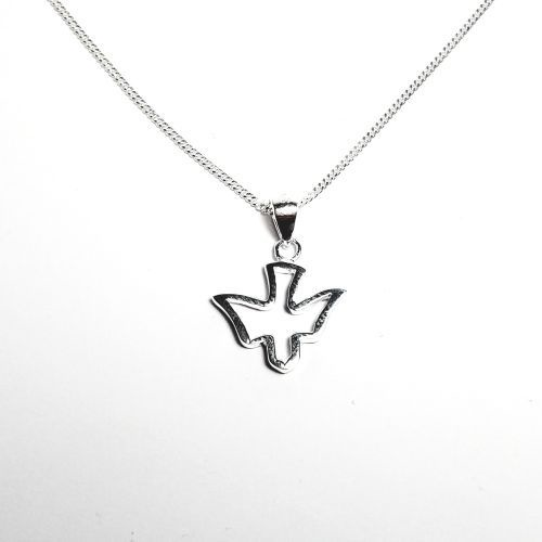 Sterling silver dove pendant the square gift store ltd sterling silver dove pendant aloadofball Choice Image