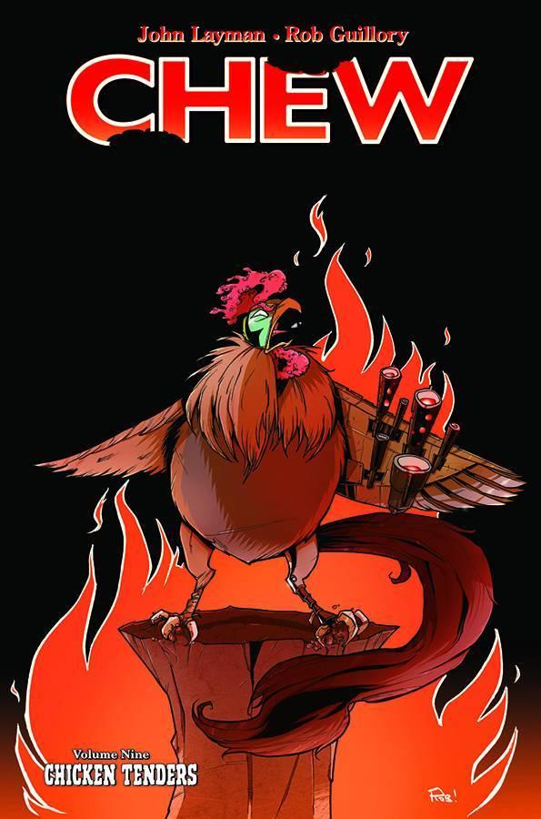 Chew Vol 09 Chicken Tenders