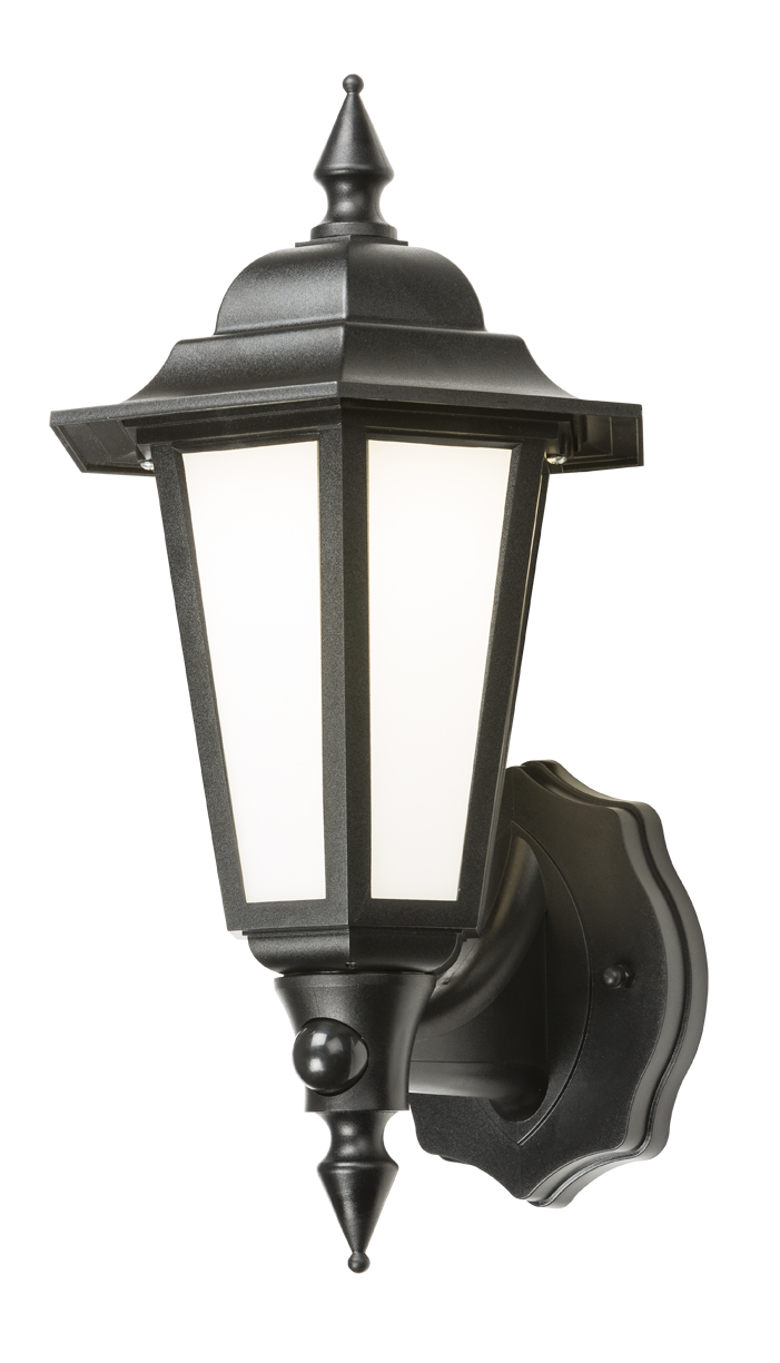 230V IP54 LED LANTERN with PIR