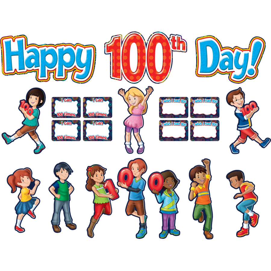 X TCR 5519 HAPPY 100TH DAY