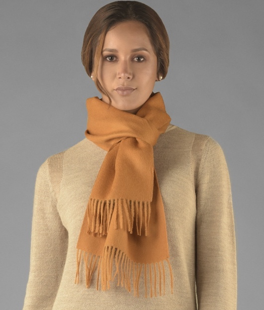 LONG BRUSHED SCARF AM14033