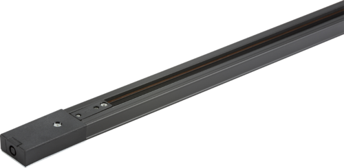 230v Single Circuit Track Black 2 mtr