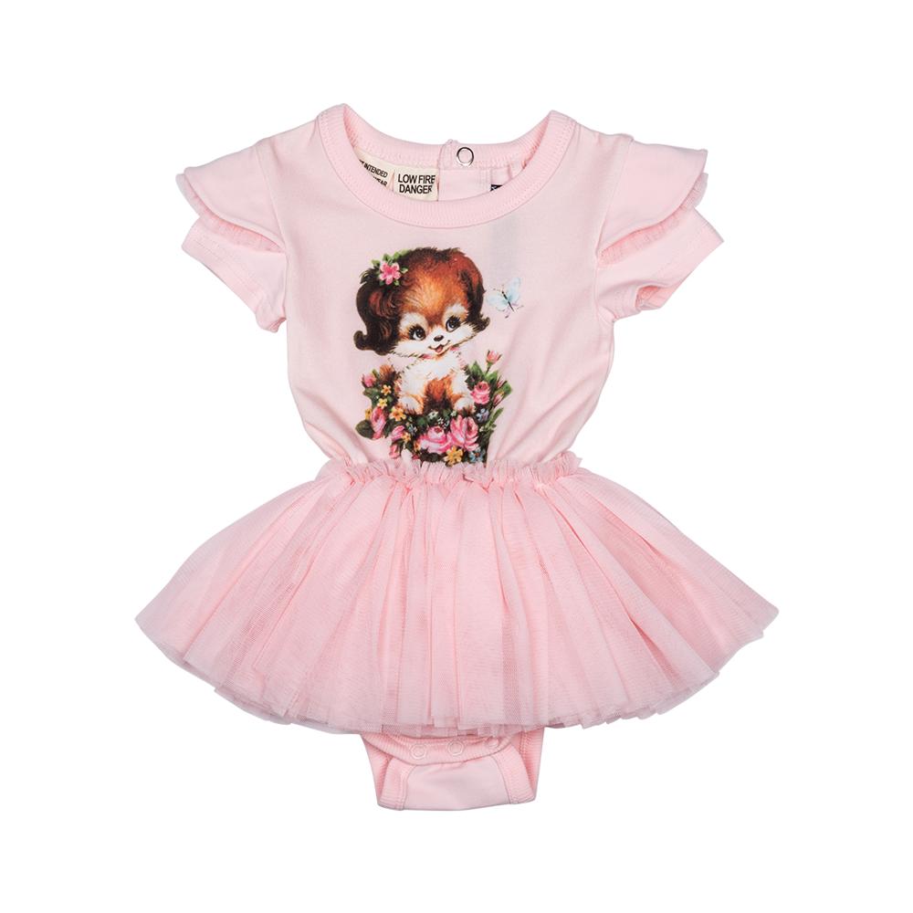 Pupply Love Baby Circus Tutu Dress