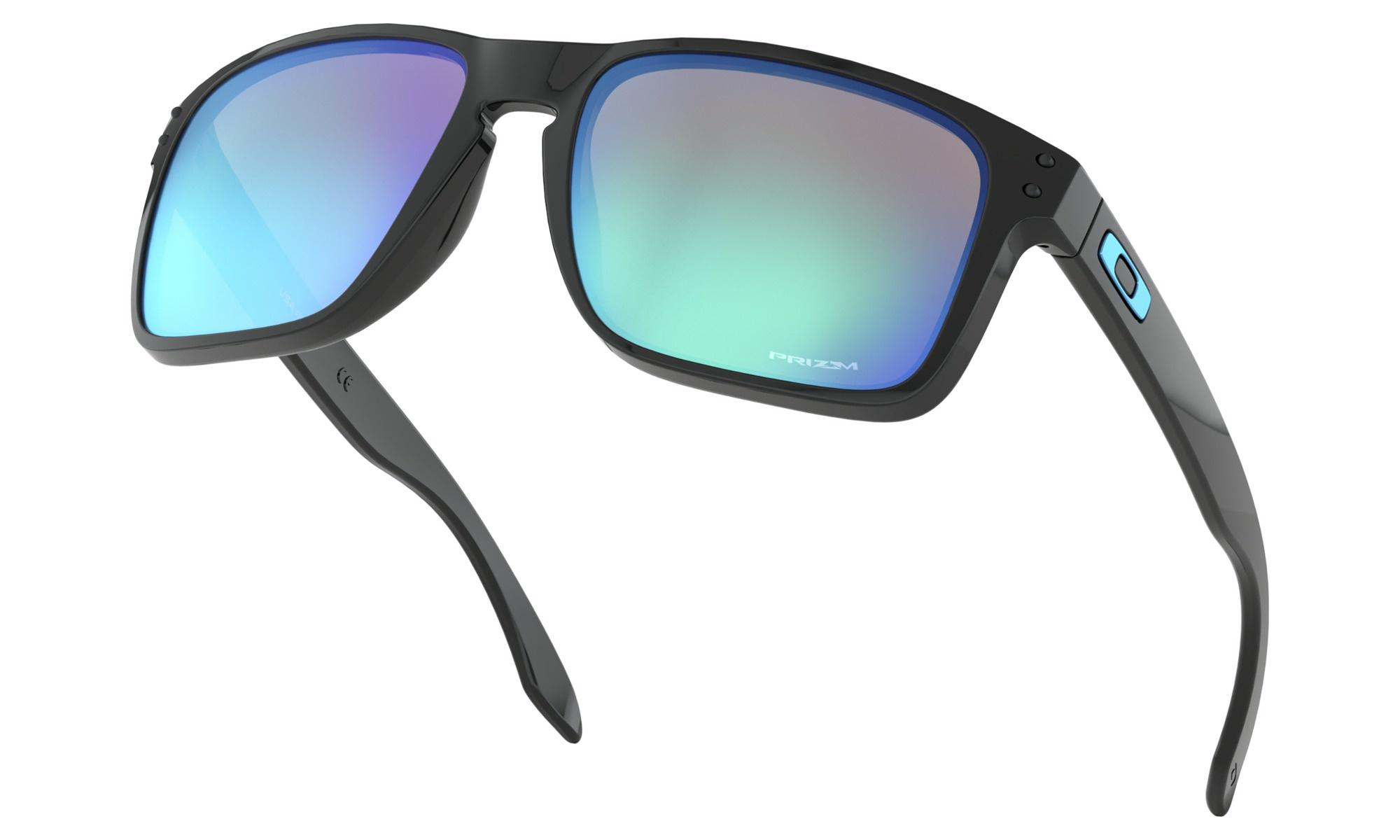 4839062bf8d Oakley Holbrook XL - Polished Black w Prizm Sapphire Iridium - Out ...