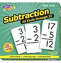 T 53202 SUBTRACTION 0-12 (ALL FACTS)